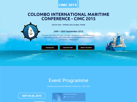 Colombo International Maritime Conference - CIMC 2015