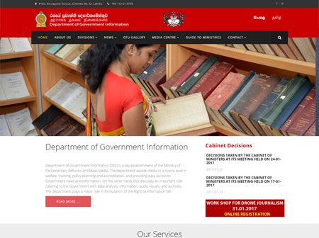 Department of Government Information