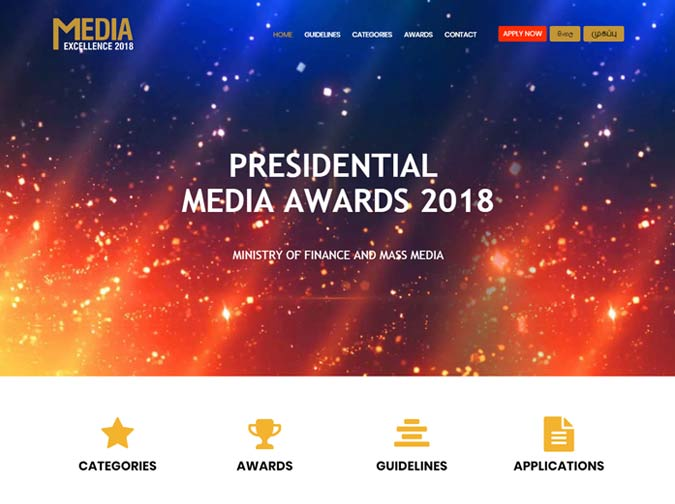 Presidential Media Awards 2018